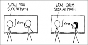 xkcd-girls and math