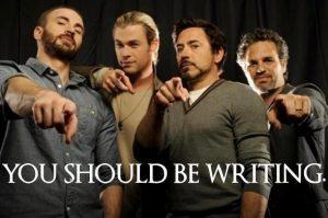 avengers-writing