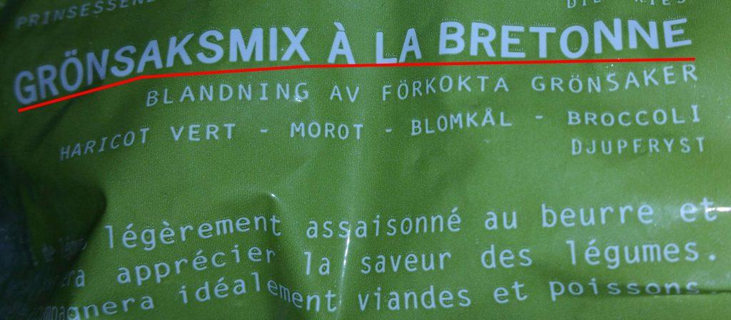 gronsaksmix