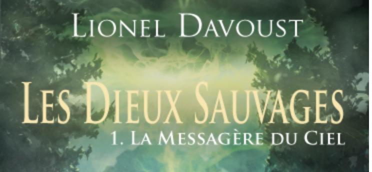 Découvrez la couverture et le résumé de La Messagère du Ciel!