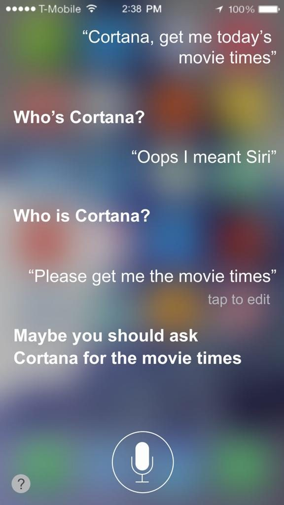 Apple-Siri-Jealous-Microsoft-Cortana
