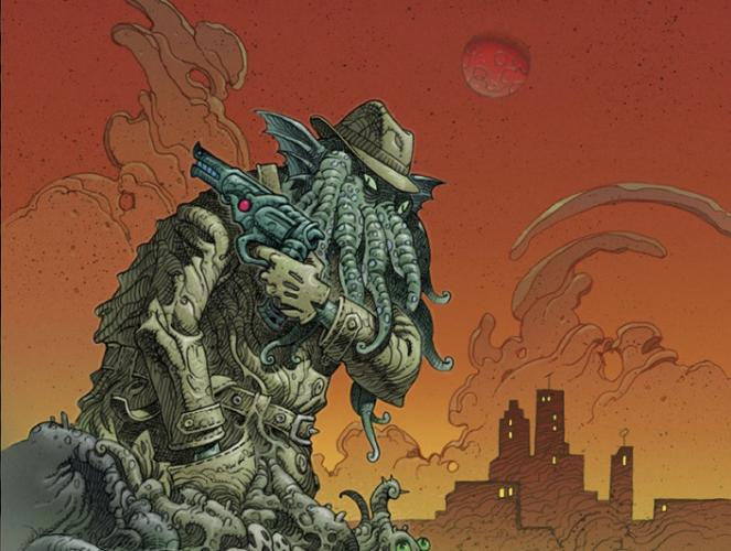 «Regarde vers l'ouest» republiée dans l'anthologie du festival ImaJn'ère, Monstres Cachés